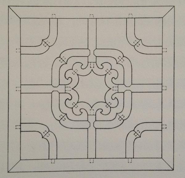 《王世襄手绘85种明式家具榫卯结构》